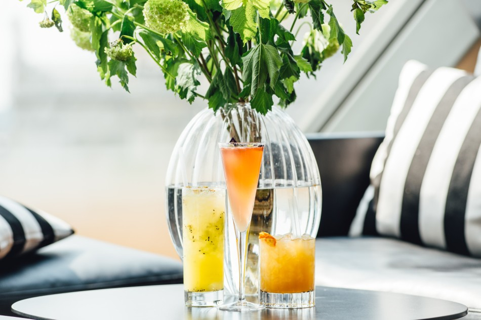 Terrace Tonic, Rooftop Blossom & Private Eye
